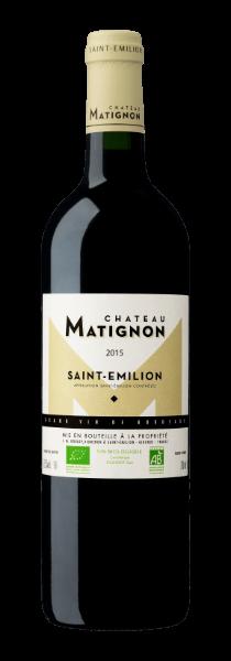 Chateau Bellegrave - bouteille chateau Matignon 2015